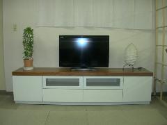 TVボード ホワイト