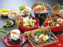 京懐石-秋日和-(No.211)※海鮮鍋又は土瓶蒸し付