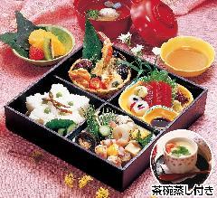 松花堂会席膳(No.103)※茶碗蒸し付