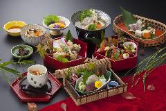 京懐石-秋日和-(No.211)※魚すき鍋又は土瓶蒸し付