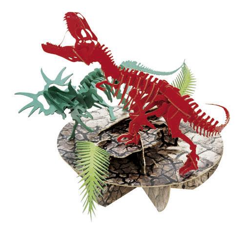 ティラノサウルスvsスティラコサウルス(専用特別台)
