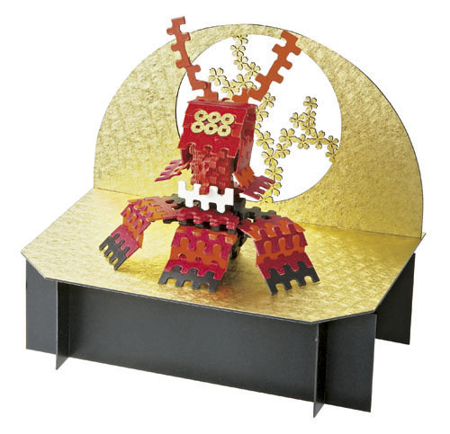 紙ブロック<真田カブト>(専用台座付)