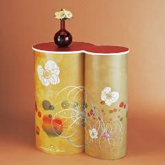 円柱アレンジディスプレイ<ひょうたん型>