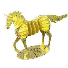 馬(走りポーズ)ゴールド