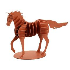 馬(走りポーズ)レッド