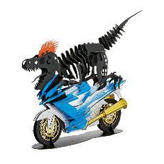 バイク恐竜(台付)☆