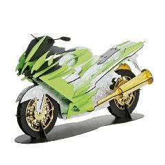 レーサーバイク(台付)<グリーン>☆