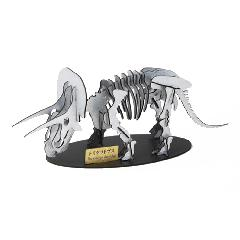 NEW-トリケラトプス<シルバー>専用台付