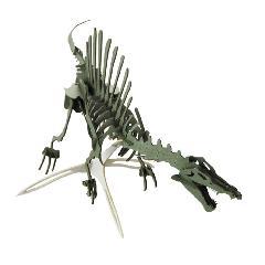 NEW-スピノサウルス(台座付)<ダークグリーン>