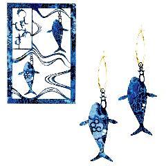 <越前和紙>イルカ