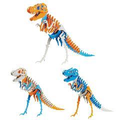 デコカラー3 ティラノサウルス Aセット(3体入り)☆
