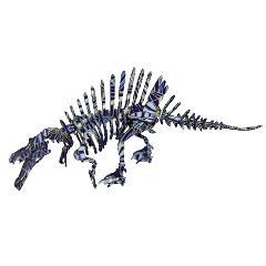 <越前和紙>スピノサウルス和紙張
