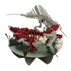 ティラノサウルスvsスピノサウルス(専用特別台)