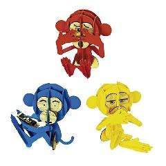 三猿セット<B>☆