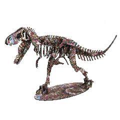 <越前和紙>NEWティラノサウルス スタンドタイプ<小豆>