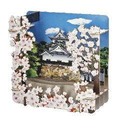 彦根城(さくら)
