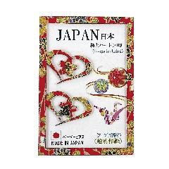 <越前和紙>ペーパーピアス 桜とハート09