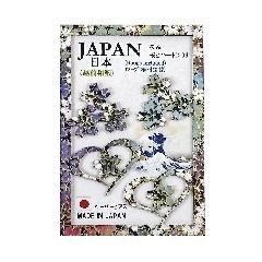 <越前和紙>ペーパーピアス 桜&桜とハート06