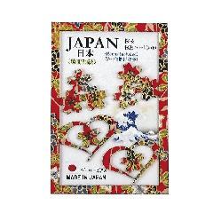 <越前和紙>ペーパーピアス 桜&桜とハート09