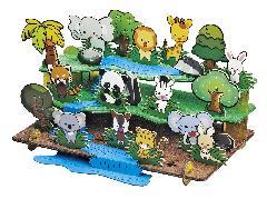 <ジオラマ>かわいい動物たち
