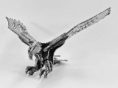 【アイアンオブジェ】白頭鷲