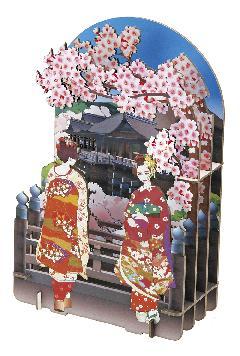 舞妓清水寺(さくら)