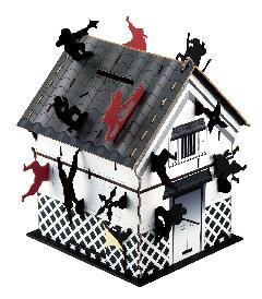 忍者蔵屋敷(貯金箱タイプ)