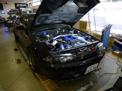 GT-Rの整備