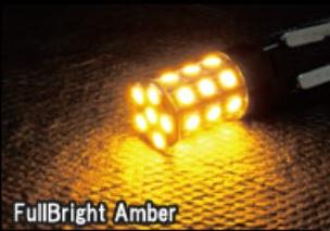 LED T20 360°SMDバルブ タイプ2 【フルブライトアンバー】シングル