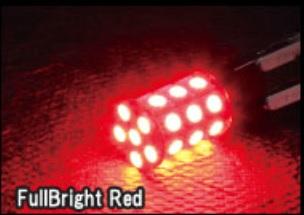 LED T20 360°SMDバルブ タイプ2 【フルブライトレッド】ダブル