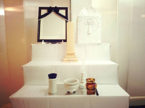 後飾り祭壇(2段飾り)