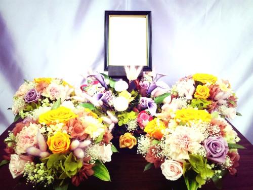 式場内装飾花