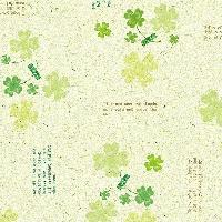 包装1 祝用 クローバーグリーン