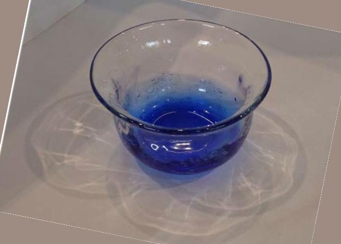 琉球グラス海の音冷茶グラス 青