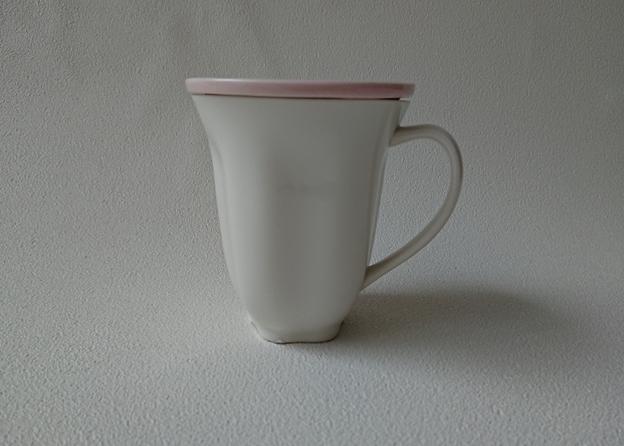 華うつし蓋付マグカップ
