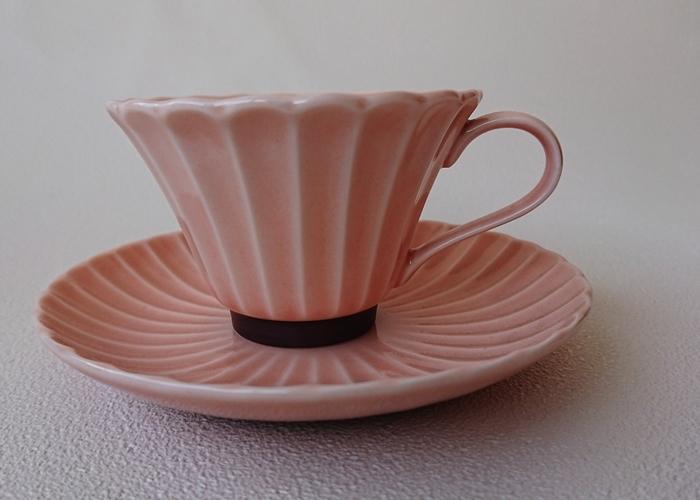 かすみ(ピンク)コーヒーカップ