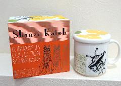 Shinzi Katoh カネゴン フタ付マグカップ