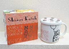 Shinzi Katoh ピグモン  フタ付マグカップ