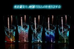 海蛍 アイスロンググラス青・水・ピンク