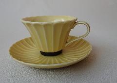かすみ(イエロー)コーヒーカップ