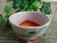 【信楽焼 植木鉢】白掛三ツ足4号(植物付き)