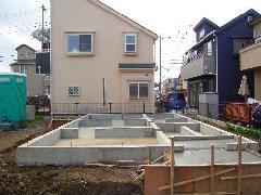 小金井個人住宅基礎工事