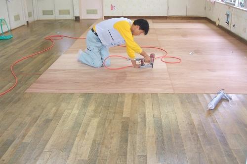 フローリング、床材の張り替え