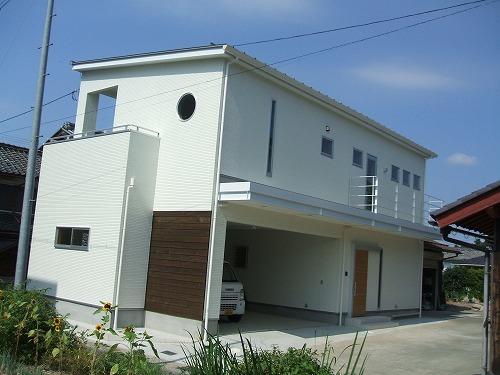 【注文住宅】シンプルでオープンスタイルな家