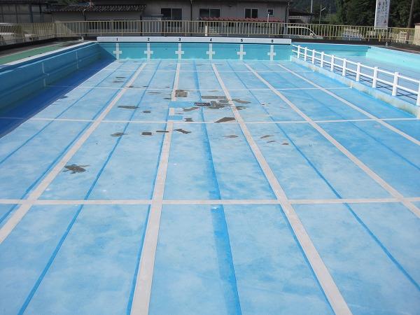 【中学校】プールの水漏れ修理