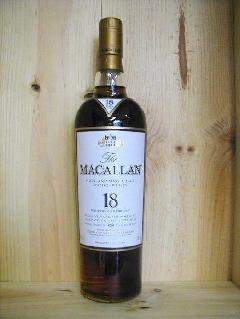 マッカラン18年