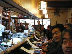 日本酒の会とワインの会
