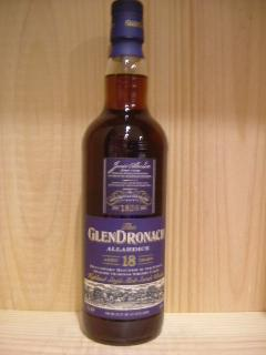 グレンドロナック18年アラダイス