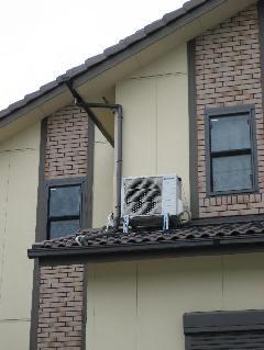 家庭用エアコン 室外機の色々な取付方