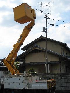 アンテナ工事(スッキリポール)